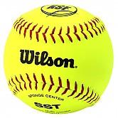 [A9117TK] 윌슨 12인치 KSF OFFICIAL BALL 소프트볼공 (안전공) 1타 (12개)