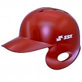 SSK 초경량 헬멧 (무광 적색) 좌귀/우타
