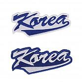 KOREA 로고 열접착패치