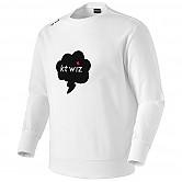 [KT 위즈] 스피치 버블 맨투맨 티셔츠 (백색)