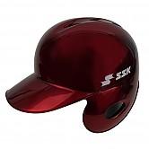 SSK 초경량 헬멧 (유광 적색) 우귀/좌타