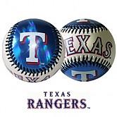 [2710] 프랭클린 MLB 안전공 메이져팀볼 1개입 (텍사스 레인져스)
