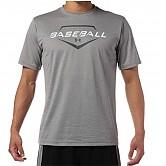 [8738] 언더아머 베이스볼 반팔 티셔츠 (회색)