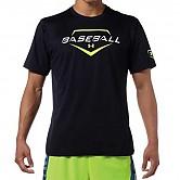 [8738] 언더아머 베이스볼 반팔 티셔츠 (남색)