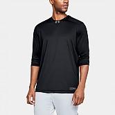 [1317265] 언더아머 UA 유틸리티 라운드 티셔츠 (검정) 7부